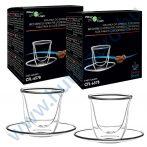 FilterLogic CFL-657B duplafalú espresso csésze - 2db