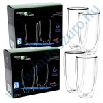 FilterLogic CFL-670B duplafalú thermo latte pohár - 4db