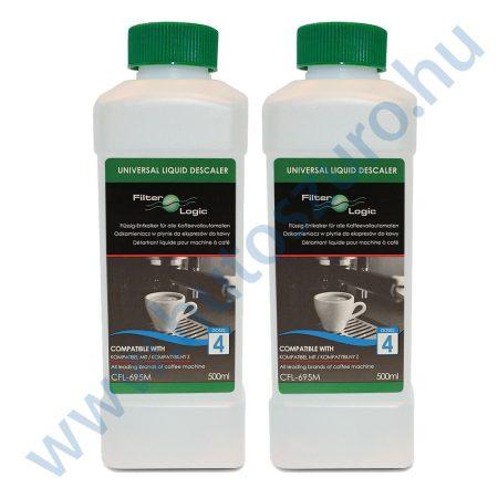 2 db FilterLogic CFL-695M Univerzális vízkőtelenítő folyadék – 2x500ml