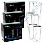 3 doboz FilterLogic CFL-670B duplafalú thermo latte pohár - 6db