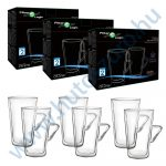 FilterLogic CFL-675B duplafalú thermo latte pohár - 6db