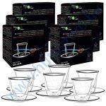 FilterLogic CFL-657B duplafalú espresso csésze - 6db