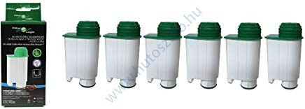 6 db FilterLogic CFL-902B Saeco BRITA INTENZA + CA6702/00 kompatibilis kávéfőző vízszűrő vízlágyító