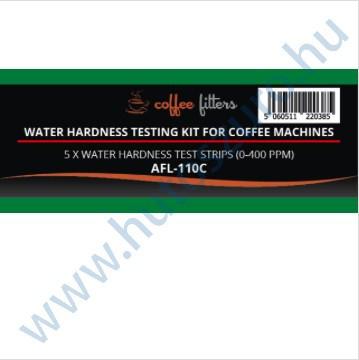 Filterlogic AFL-110C vízkeménység mérő tesztcsík kávéfőző gépekhez - 5 db