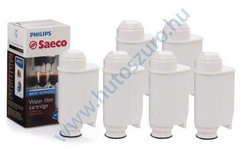 6 db-os Saeco BRITA INTENZA + CA6702/00 kávéfőző vízszűrő vízlágyító