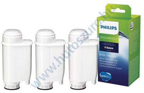 3 db-os Philips BRITA INTENZA + CA6702/10 kávéfőző vízszűrő vízlágyító