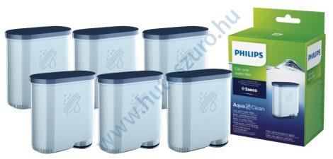 6 db-os Phillips AquaClean CA6903/10 kávéfőző vízlágyító vízszűrő