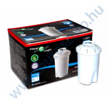 Vízszűrő kancsó FilterLogic FL601G classic típusú szűrőbetét - 6 db