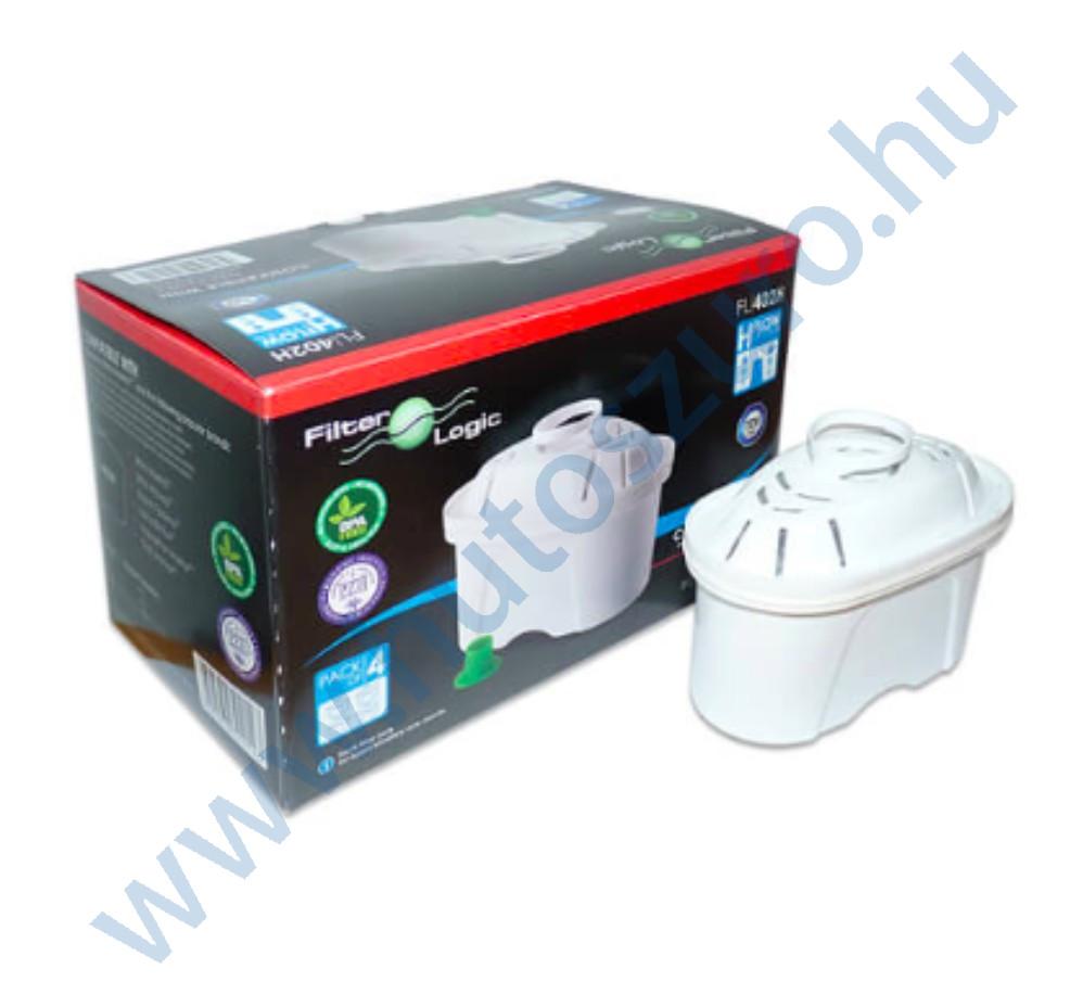 Vízszűrő kancsó FilterLogic FL402H maxtra típusú szűrőbetét 12 db