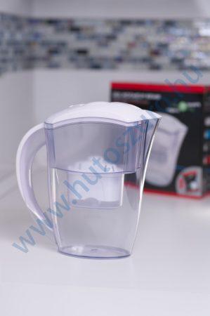 Vízszűrő kancsó FilterLogic FLJ402 - fehér színben, 2,4 liter - 1 db maxtra típusú szűrőbetéttel