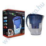 Vízszűrő kancsó FilterLogic FLJ402 - kék színben, 2,4 liter - 1 db maxtra típusú szűrőbetéttel