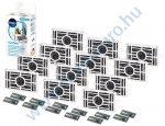 12 db - WPRO PurifAIR szagtalanító és antibakteriális szűrőbetét Whirlpool hűtőszekrényhez PUR505 - 484000008972