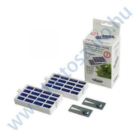 2 db - Microban antibakteriális légszűrő Whirlpool hűtőszekrényhez 480131000232 (ANTF-MIC2)