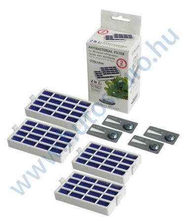 4 db - Microban antibakteriális légszűrő Whirlpool hűtőszekrényhez 480131000232 (ANTF-MIC2)