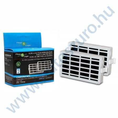 2 db - Filterlogic FFL-199W - Whirlpool antibakteriális szűrő helyett