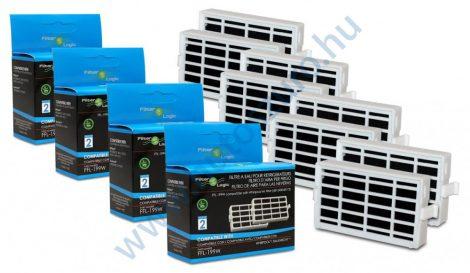 8 db - Filterlogic FFL-199W - Whirlpool antibakteriális szűrő helyett