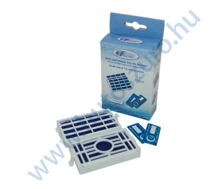 WF009 2 db utángyártott antibakteriális légszűrő Whirlpool hűtőszekrényhez 481248048172 (HYG001)
