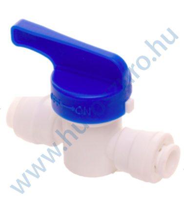 """Hűtőszekrény vízszűrő vízbekötés - elzáró csap 1/4""""-1/4"""""""