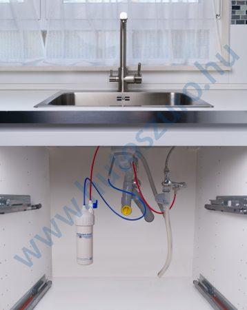 """Konyhai vízszűrő rendszer X250 (1/2"""" csatlakozóval, CS01ACG csapteleppel)"""