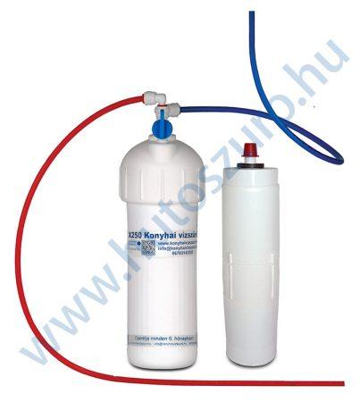 """Konyhai víztisztitó rendszer X250 (3/4"""" csatlakozóval, csaptelep nélkül)"""