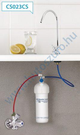 """Pult alatti konyhai vízszűrő rendszer X250 (3/8"""" csatlakozóval, CS023CS csapteleppel)"""